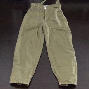 Women's Zara cargo pants size 2